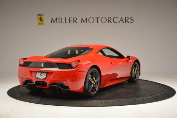 Used 2013 Ferrari 458 Italia for sale Sold at Bentley Greenwich in Greenwich CT 06830 7