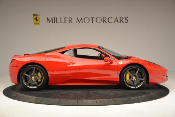 Used 2013 Ferrari 458 Italia for sale Sold at Bentley Greenwich in Greenwich CT 06830 9
