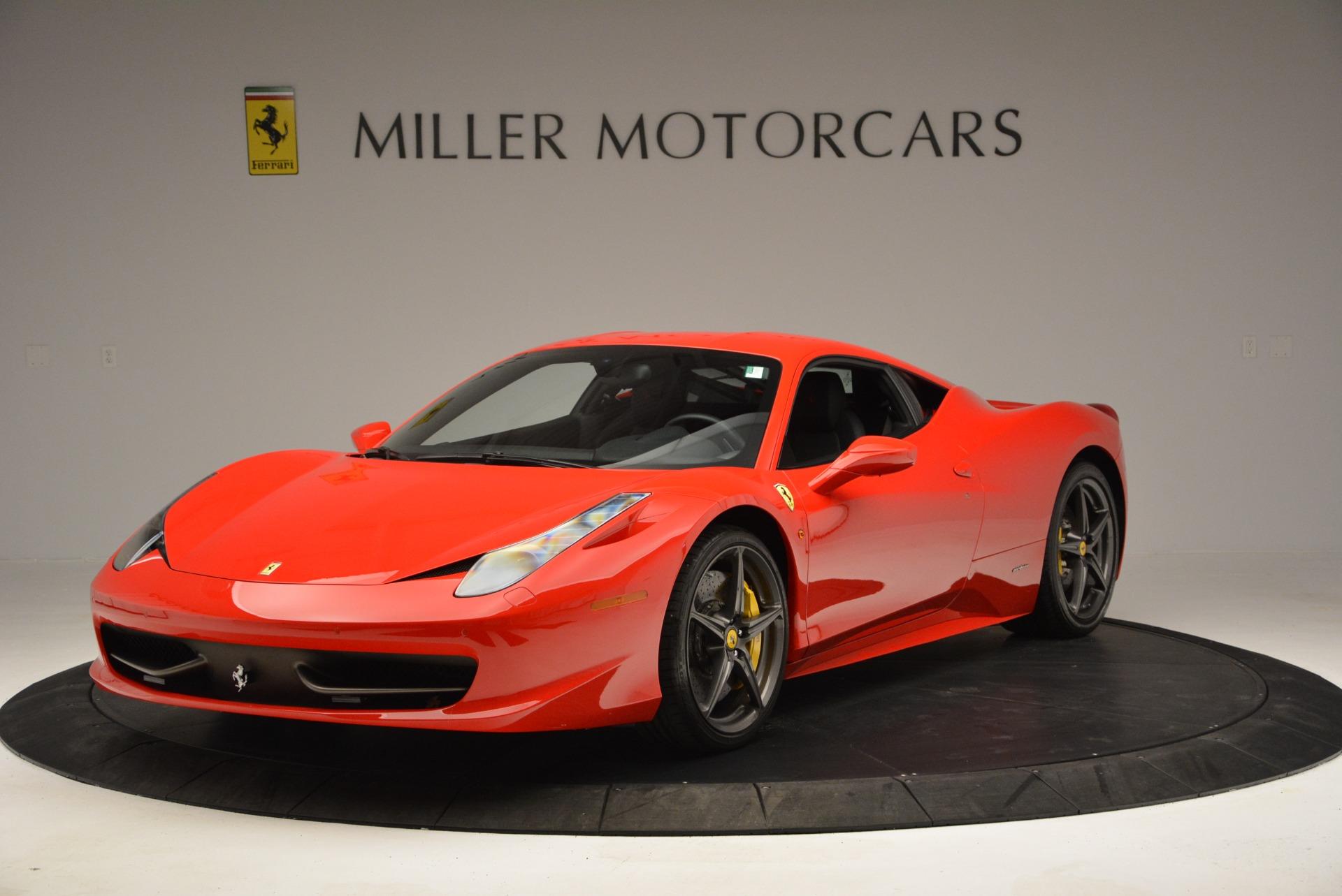 Used 2013 Ferrari 458 Italia for sale Sold at Bentley Greenwich in Greenwich CT 06830 1