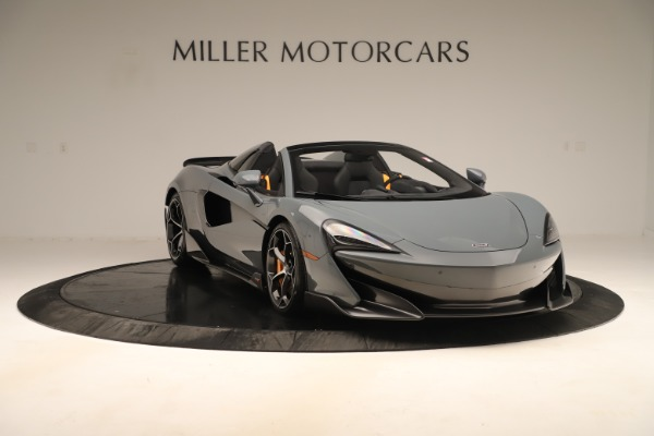 Used 2020 McLaren 600LT Spider for sale Sold at Bentley Greenwich in Greenwich CT 06830 10