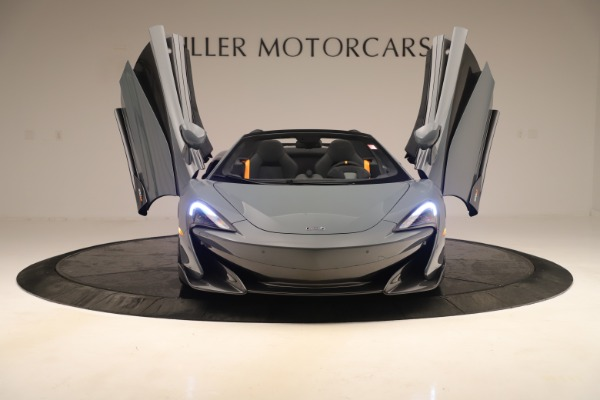 Used 2020 McLaren 600LT Spider for sale Sold at Bentley Greenwich in Greenwich CT 06830 12