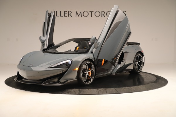 Used 2020 McLaren 600LT Spider for sale Sold at Bentley Greenwich in Greenwich CT 06830 13