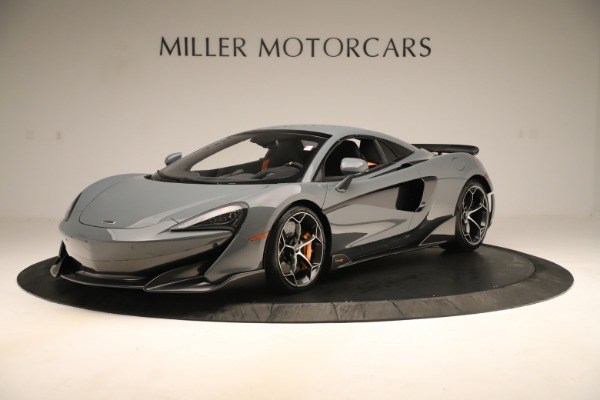 Used 2020 McLaren 600LT Spider for sale Sold at Bentley Greenwich in Greenwich CT 06830 14
