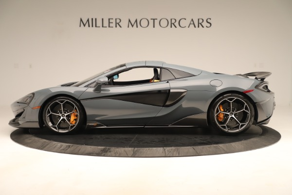 Used 2020 McLaren 600LT Spider for sale Sold at Bentley Greenwich in Greenwich CT 06830 15