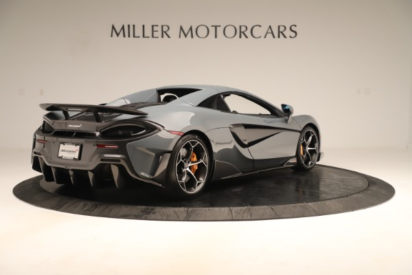 Used 2020 McLaren 600LT Spider for sale Sold at Bentley Greenwich in Greenwich CT 06830 18