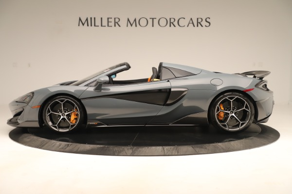 Used 2020 McLaren 600LT Spider for sale Sold at Bentley Greenwich in Greenwich CT 06830 2