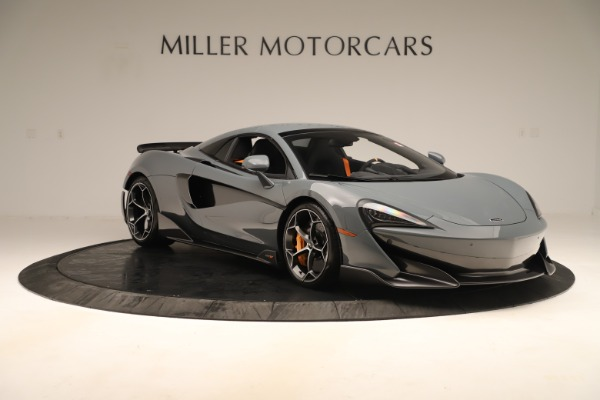 Used 2020 McLaren 600LT Spider for sale Sold at Bentley Greenwich in Greenwich CT 06830 20