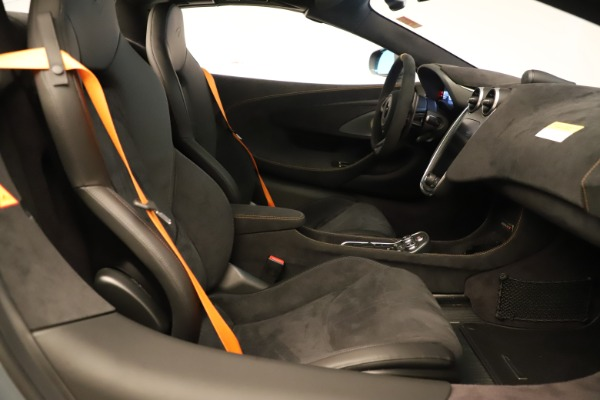 Used 2020 McLaren 600LT Spider for sale Sold at Bentley Greenwich in Greenwich CT 06830 26