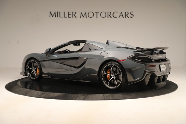Used 2020 McLaren 600LT Spider for sale Sold at Bentley Greenwich in Greenwich CT 06830 3