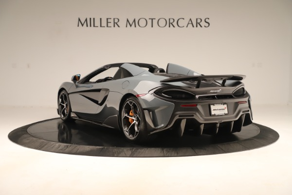Used 2020 McLaren 600LT Spider for sale Sold at Bentley Greenwich in Greenwich CT 06830 4