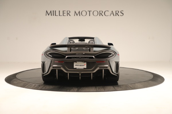 Used 2020 McLaren 600LT Spider for sale Sold at Bentley Greenwich in Greenwich CT 06830 5