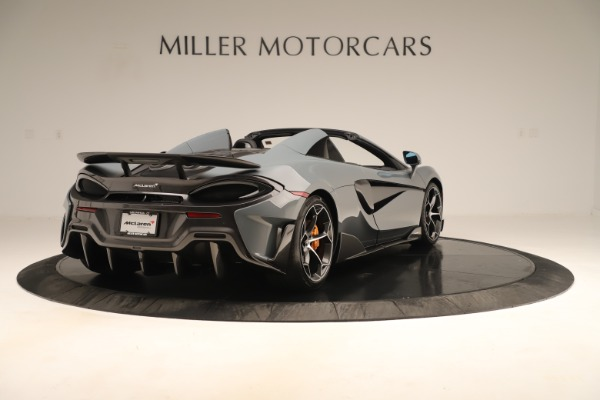 Used 2020 McLaren 600LT Spider for sale Sold at Bentley Greenwich in Greenwich CT 06830 6