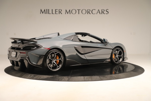 Used 2020 McLaren 600LT Spider for sale Sold at Bentley Greenwich in Greenwich CT 06830 7