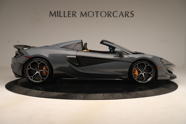 Used 2020 McLaren 600LT Spider for sale Sold at Bentley Greenwich in Greenwich CT 06830 8