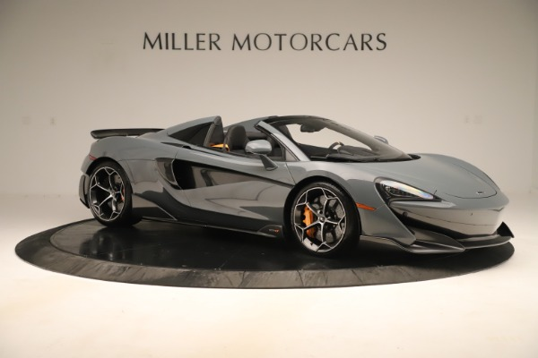 Used 2020 McLaren 600LT Spider for sale Sold at Bentley Greenwich in Greenwich CT 06830 9