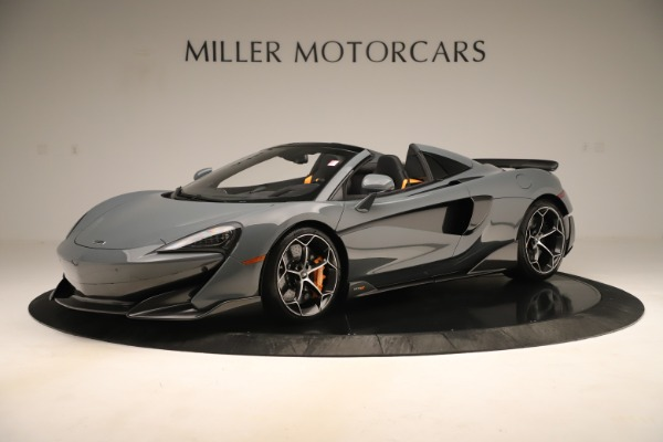 Used 2020 McLaren 600LT Spider for sale Sold at Bentley Greenwich in Greenwich CT 06830 1