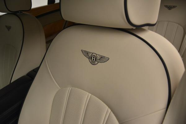 Used 2012 Bentley Mulsanne for sale Sold at Bentley Greenwich in Greenwich CT 06830 27