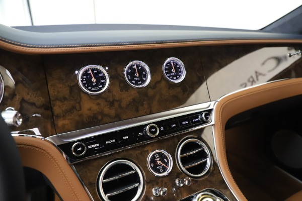New 2020 Bentley Continental GT V8 for sale $240,935 at Bentley Greenwich in Greenwich CT 06830 24