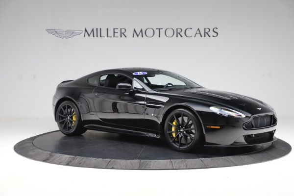 Used 2015 Aston Martin V12 Vantage S Coupe for sale $99,900 at Bentley Greenwich in Greenwich CT 06830 9