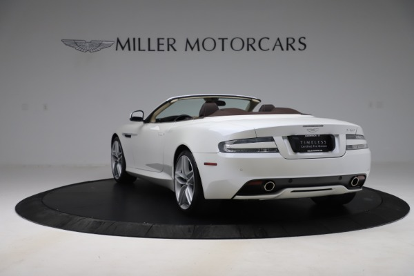 Used 2012 Aston Martin Virage Volante for sale Sold at Bentley Greenwich in Greenwich CT 06830 5