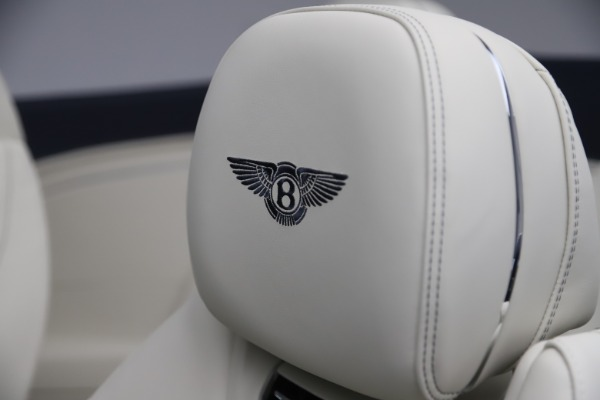 New 2020 Bentley Continental GTC V8 for sale Sold at Bentley Greenwich in Greenwich CT 06830 26