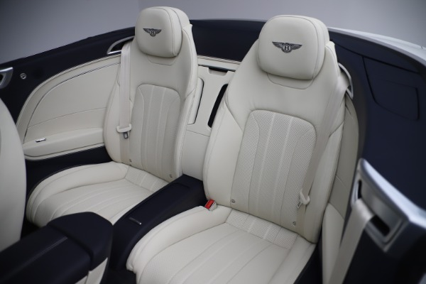 New 2020 Bentley Continental GTC V8 for sale Sold at Bentley Greenwich in Greenwich CT 06830 27