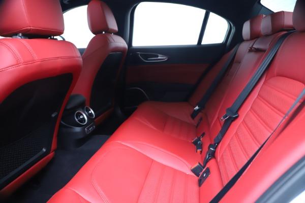 New 2019 Alfa Romeo Giulia Ti Sport Carbon Q4 for sale Sold at Bentley Greenwich in Greenwich CT 06830 19