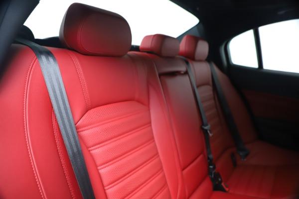 New 2019 Alfa Romeo Giulia Ti Sport Carbon Q4 for sale Sold at Bentley Greenwich in Greenwich CT 06830 26