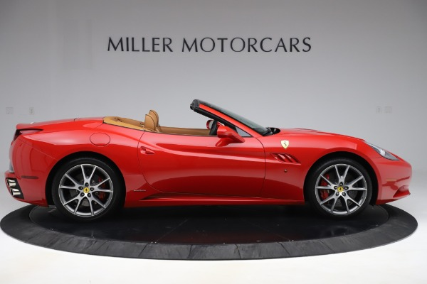 Used 2013 Ferrari California 30 for sale $112,900 at Bentley Greenwich in Greenwich CT 06830 9