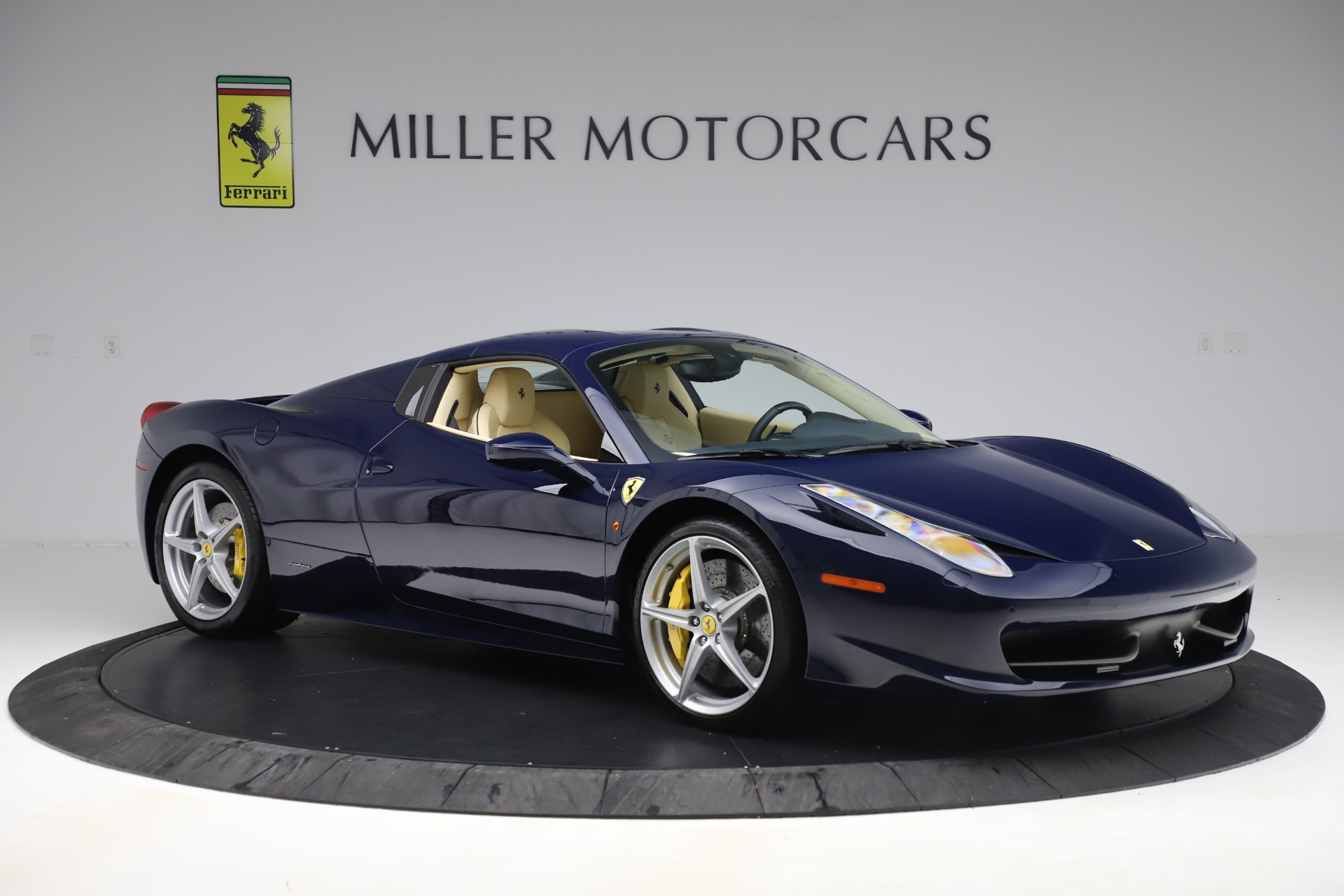 Pre Owned 2013 Ferrari 458 Spider For Sale Special Pricing Bentley Greenwich Stock 4614