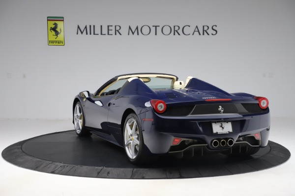 Used 2013 Ferrari 458 Spider for sale Sold at Bentley Greenwich in Greenwich CT 06830 5