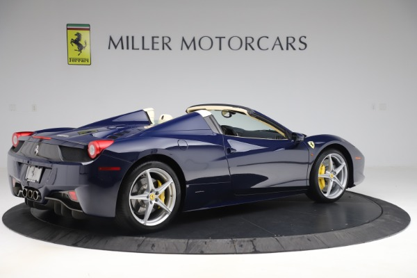 Used 2013 Ferrari 458 Spider for sale Sold at Bentley Greenwich in Greenwich CT 06830 8