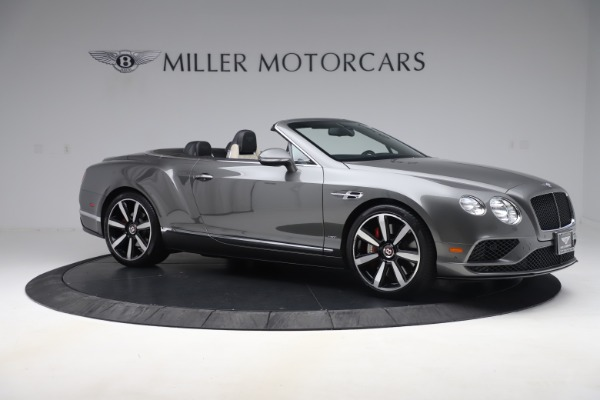 Used 2016 Bentley Continental GTC V8 S for sale $139,900 at Bentley Greenwich in Greenwich CT 06830 10