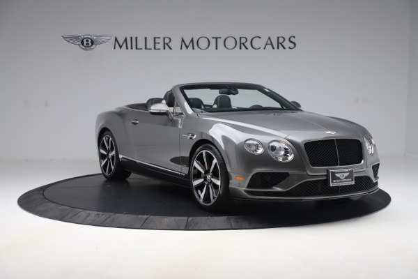Used 2016 Bentley Continental GTC V8 S for sale $139,900 at Bentley Greenwich in Greenwich CT 06830 11