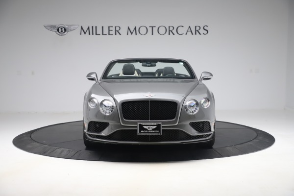 Used 2016 Bentley Continental GTC V8 S for sale $139,900 at Bentley Greenwich in Greenwich CT 06830 12