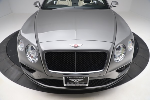 Used 2016 Bentley Continental GTC V8 S for sale $139,900 at Bentley Greenwich in Greenwich CT 06830 19
