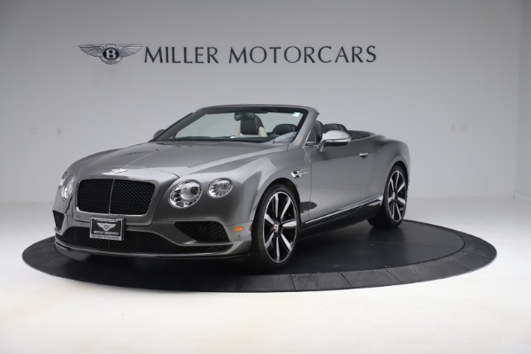 Used 2016 Bentley Continental GTC V8 S for sale $139,900 at Bentley Greenwich in Greenwich CT 06830 1