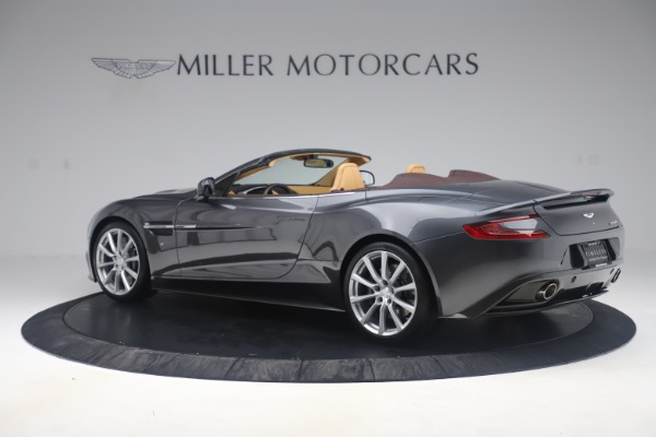 Used 2016 Aston Martin Vanquish Volante for sale Sold at Bentley Greenwich in Greenwich CT 06830 3