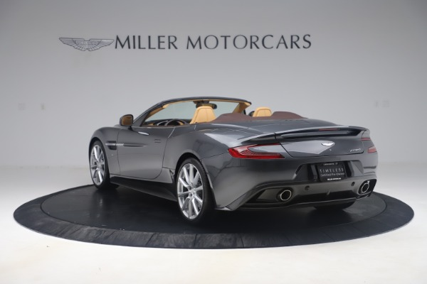 Used 2016 Aston Martin Vanquish Volante for sale Sold at Bentley Greenwich in Greenwich CT 06830 4