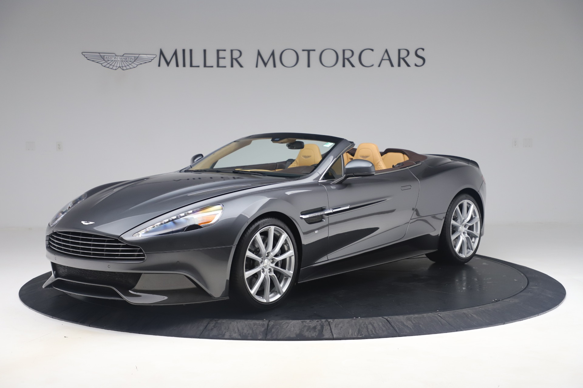 Used 2016 Aston Martin Vanquish Volante for sale Sold at Bentley Greenwich in Greenwich CT 06830 1