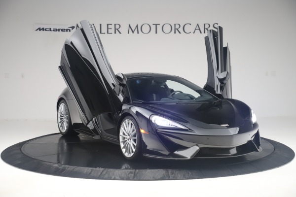 Used 2017 McLaren 570GT Coupe for sale $149,900 at Bentley Greenwich in Greenwich CT 06830 11
