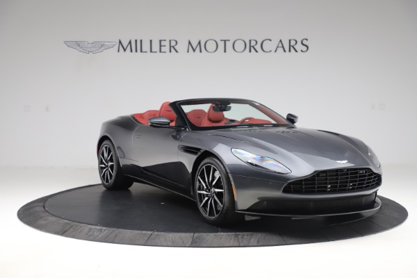 Used 2020 Aston Martin DB11 Volante Convertible for sale $253,076 at Bentley Greenwich in Greenwich CT 06830 10