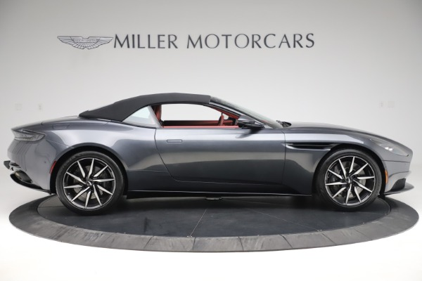 Used 2020 Aston Martin DB11 Volante Convertible for sale $253,076 at Bentley Greenwich in Greenwich CT 06830 13