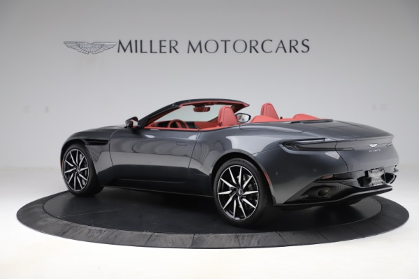 Used 2020 Aston Martin DB11 Volante Convertible for sale $253,076 at Bentley Greenwich in Greenwich CT 06830 3