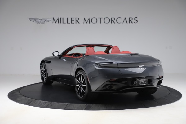 Used 2020 Aston Martin DB11 Volante Convertible for sale $253,076 at Bentley Greenwich in Greenwich CT 06830 4