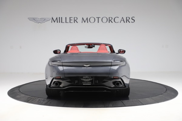 Used 2020 Aston Martin DB11 Volante Convertible for sale $253,076 at Bentley Greenwich in Greenwich CT 06830 5
