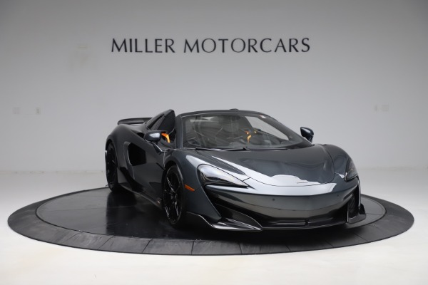 Used 2020 McLaren 600LT SPIDER Convertible for sale $249,900 at Bentley Greenwich in Greenwich CT 06830 10