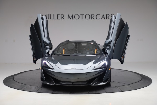 Used 2020 McLaren 600LT SPIDER Convertible for sale $249,900 at Bentley Greenwich in Greenwich CT 06830 12