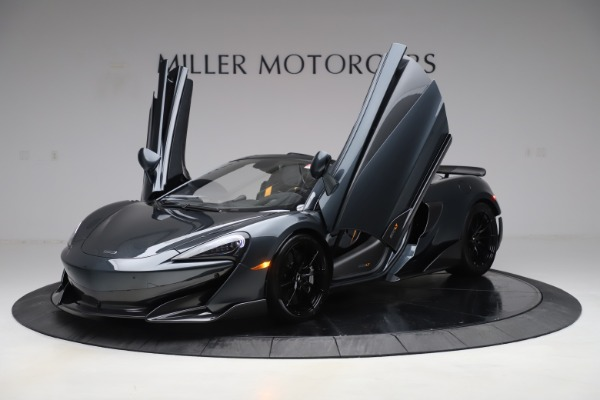 Used 2020 McLaren 600LT SPIDER Convertible for sale $249,900 at Bentley Greenwich in Greenwich CT 06830 13