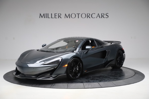 Used 2020 McLaren 600LT SPIDER Convertible for sale $249,900 at Bentley Greenwich in Greenwich CT 06830 14